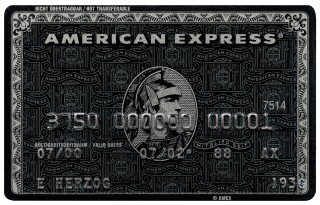 American Express Centurion Card (AMEX)
