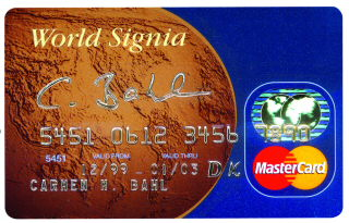 Master-Card World Signia
