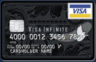 schwarze Visa Infinite