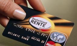 Deutschland-Rente Kreditkarte