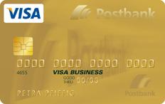 Visa Gold-Karte